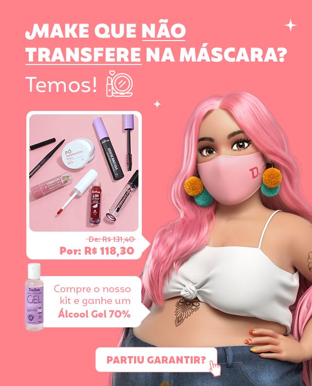 Kit Pra Não Sujar a Máscara- ATIVO